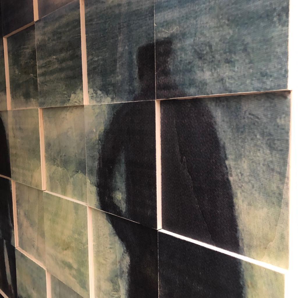 Houten wanddecoratie Interior Stories werk op maat